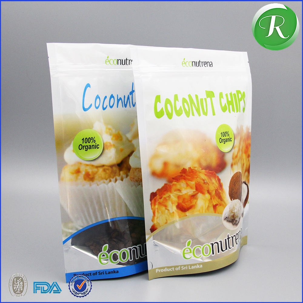 China manufacturing on line sell 500g coconut flour packaging material