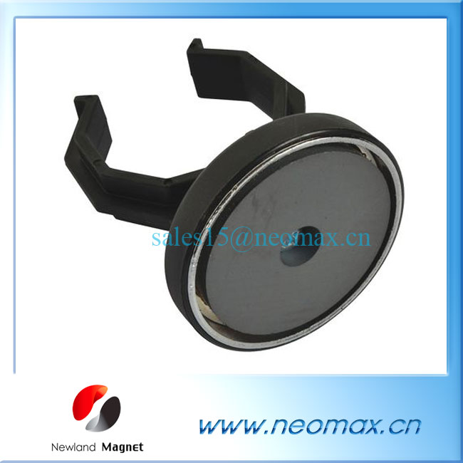 magnet assembly for handlamp led work light magnet