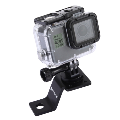 For GoPro Accessories Fixed Metal Motorcycle Holder Mount with Tripod Adapter for GoPro HERO5 HERO4 Session HERO 5 4 3+ 3 2 1