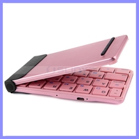 Super Mini Bluetooth 4.0 Folding Pocket Keyboard For Android IOS Tablet PC Mobile Phone