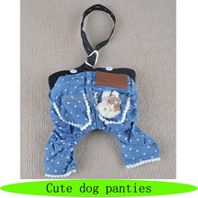 New design dog panties, fashion cute pet panties, apparel pattern dog