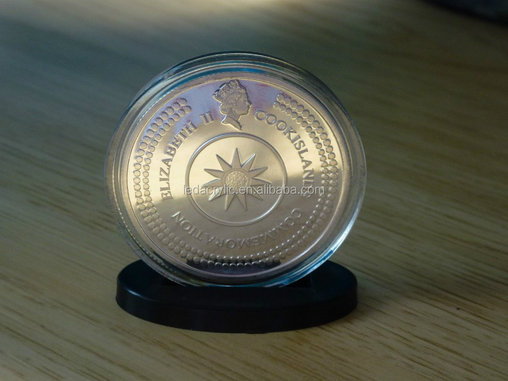 COIN ACRYLIC DISPLAY CASE