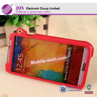 Hot beautiful design mobile phone case for samsung galaxy note3 leather case