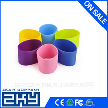 Daily use Heat-resistant Coffee cup Sleeve silicone drink up silicone sleeve silicone bottle sleeve