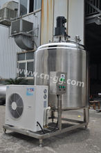 stainless steel vertical directly milk cooling tank