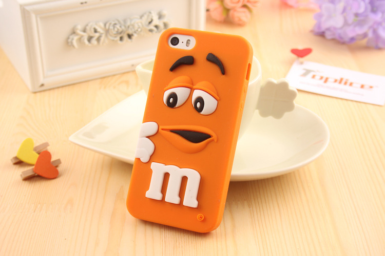 For <strong>iphone</strong> 6 6s plus case,Hot Sale 3D Colorful M&M's Choclate Silicon Mobile Phone Cover Case,Case For iphone6 6s plus