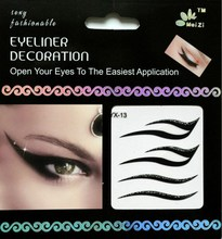 OEM Temporary Eyebrow Tattoo Eyeliner Sticker For Girl