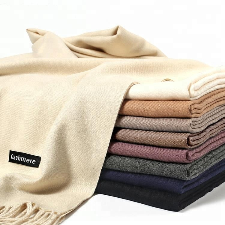 Hot Selling Plain Color Cashmere <strong>Scarf</strong> for Winter