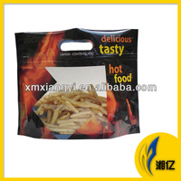 Plastic Microwaveable Grilled Hot Chicken Bag with Zip Lock