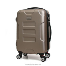 Travilling trolley bag Professional ABS luggage factory hard plastic cover travel trolley cases set