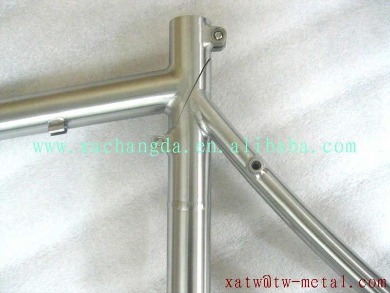 removable titanium road bike frame removable titanium MTB bike frame titanium folding bike frame