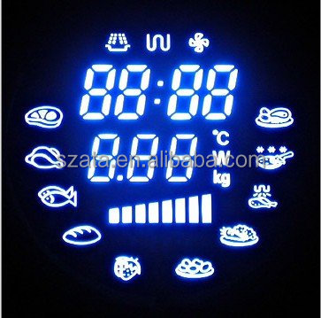 customizable digital image led display for microwave oven series