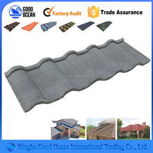 sand coated roofing/flat roofing material asphalt shingles