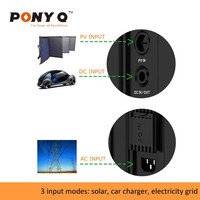 Sinopoly PONY Q 110V Portable Energy Storage Solar Generator or Power Bank Used Indoor & Outdoor, with Built in Lithium Battery
