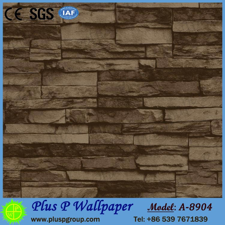 Sound-absorbing wallpaper for hotel room walls decor with cheap price