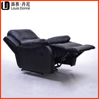 Modern confortable leather electric recliner 100% leather reclining sofa rocker chair single sofa chair