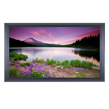 "popular 100"" rear projection touch screen"