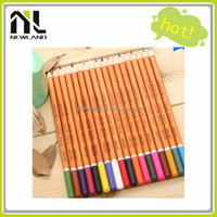 Wholesale cheap China manufacturer direct 36/48 pcs wooden colored free sample pencils