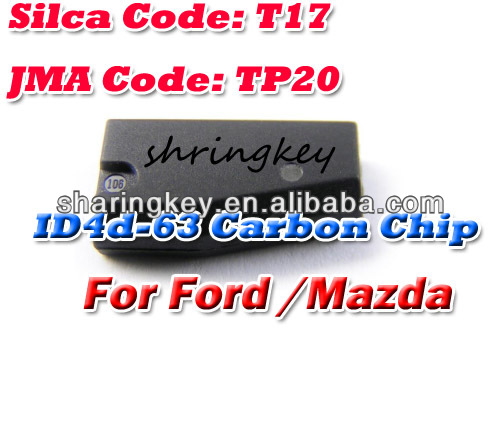 Good quality ID 4D-63 (T17) 80 Bit Transponder Chip For Ford/Mazda