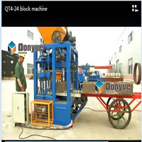 QT4-24 south Africa low price cement brick making machine/ concrete block making machine for sale