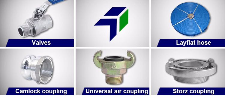 Hose Fittings Hot Sale Long Tail Blank Cap Storz Coupling