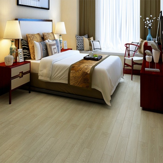 Engineered Timber Oak Flooring White brushed Parquet Solid Hard Wood Flooring