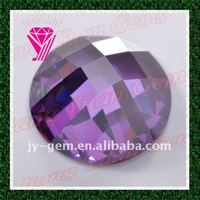 Half Ball Shape Cubic Zirconia Stone For Jewelry Making