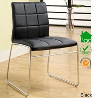 DC-2528 Metal Leather Side Chair