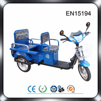 2016 direct manufacturer supply 48v 500w motor with 48v 20ah battery three wheel cargo bike