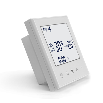 Hotel room central air conditioning control panel thermostat programmable
