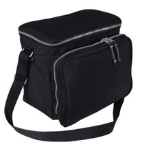 600D folding outdoor insulated lunch cooler bag for frozen food