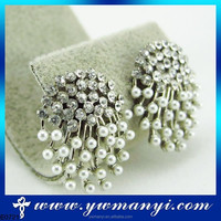 Latest Factory Direct Sale Simple stainless steel beads for earrings making with cheap fashion