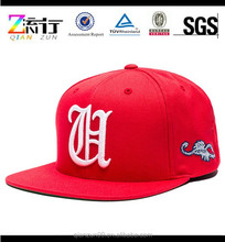 Fashion promotional snapback cap sun protection hat