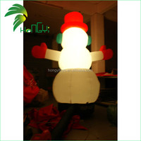 Fashion High Quality Oxford Cloth 1-10m Air-Blown Inflatable Santa Clause with LED