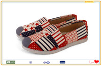 2016 Hot canvas no lace flossy italian shoes