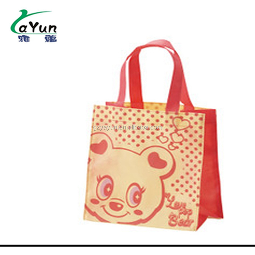 Customised Cheap Reusable Parachute Material Propathene Unwoven Bags