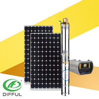 Submersible Deep Well Dc Solar Water Pump Ac Solar Water Pump