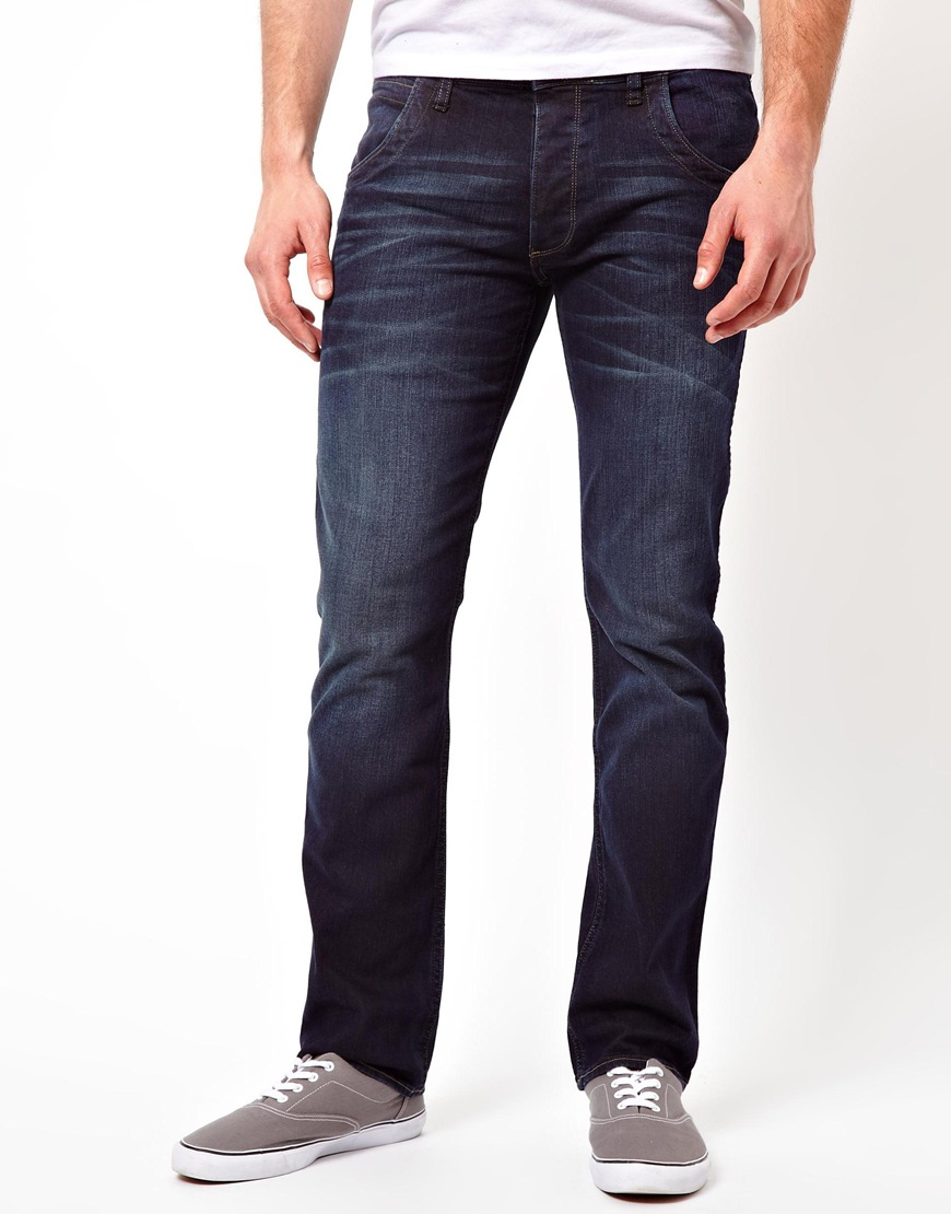 Men's Spencer Straight Fit Free Barn Wash Jeans