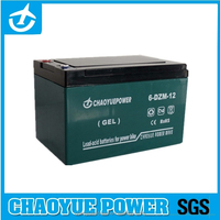 6-dzm-12 sealed lead acid (SLA) rechargeable battery for Electric Cars