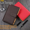 Premium leather cover magnet binder agenda B5 notebook