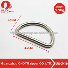 wholesale key chain open d screw metal rings for purses
