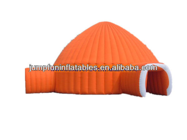 Air dome/tent inflate events structure/big inflatable dome tent house
