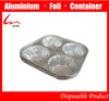 4 egg tart aluminum foil mold suit disposable food containers