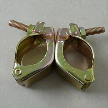 bs1139 types of World brand scaffolding scaffolding couplers forged board retaining coupler/Fittings/Clamps