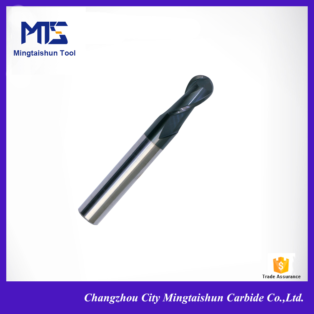solid carbide ball nose end mills/ball mill for wood