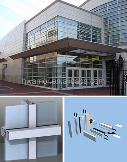 Glass Curtain Wall Price