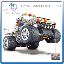 MINI QUTE RC Iron Remote Control hummer commander metal puzzle Assembly DIY building blocks kid educational toys NO.816C-2