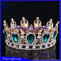 2017 The Most Popular Rhinestone Large Pageant Crowns