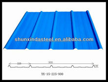 color sheets roofing size / steel roofing materials name