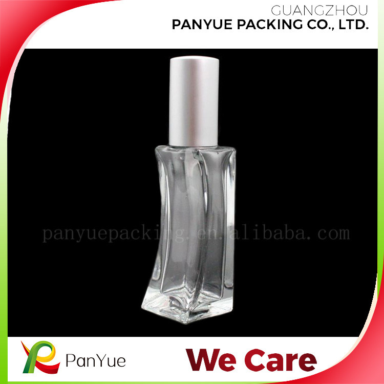 design your own perfume bottle,glass pocket perfume bottle 35ml for refillable perfume